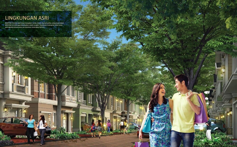 Lingkungan-Menteng-Village-Paramount-Serpong
